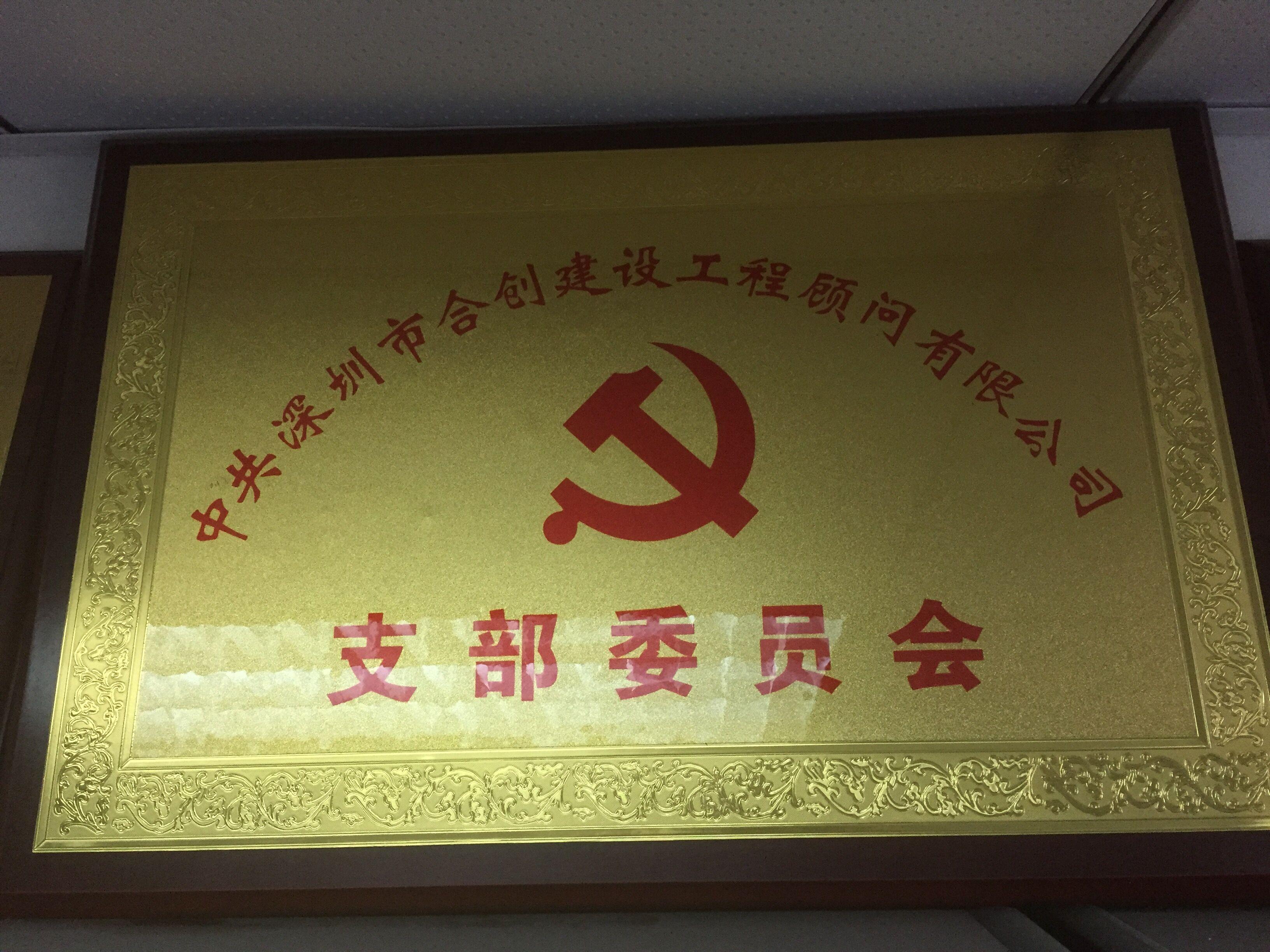热烈祝贺集团公司党支部2016年5月成立