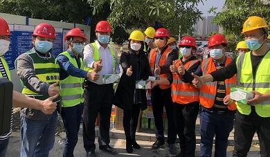 为我们骄傲!公司亚搏app官网方项目南方医科大学深圳医院应急隔离病房建设项目被表扬了